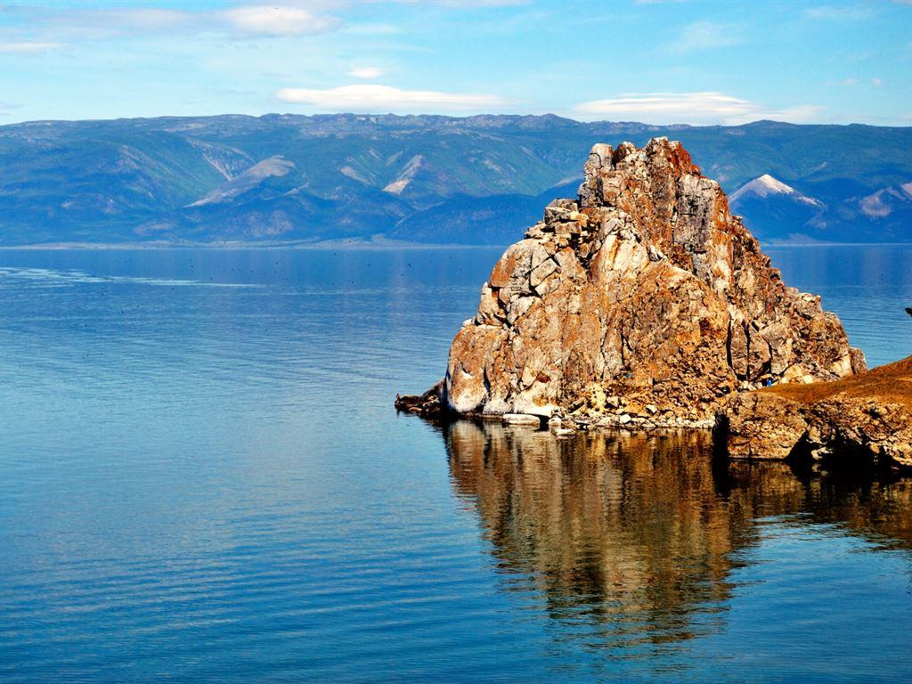 Shaman Rock (Olkhon Island, Baikal)