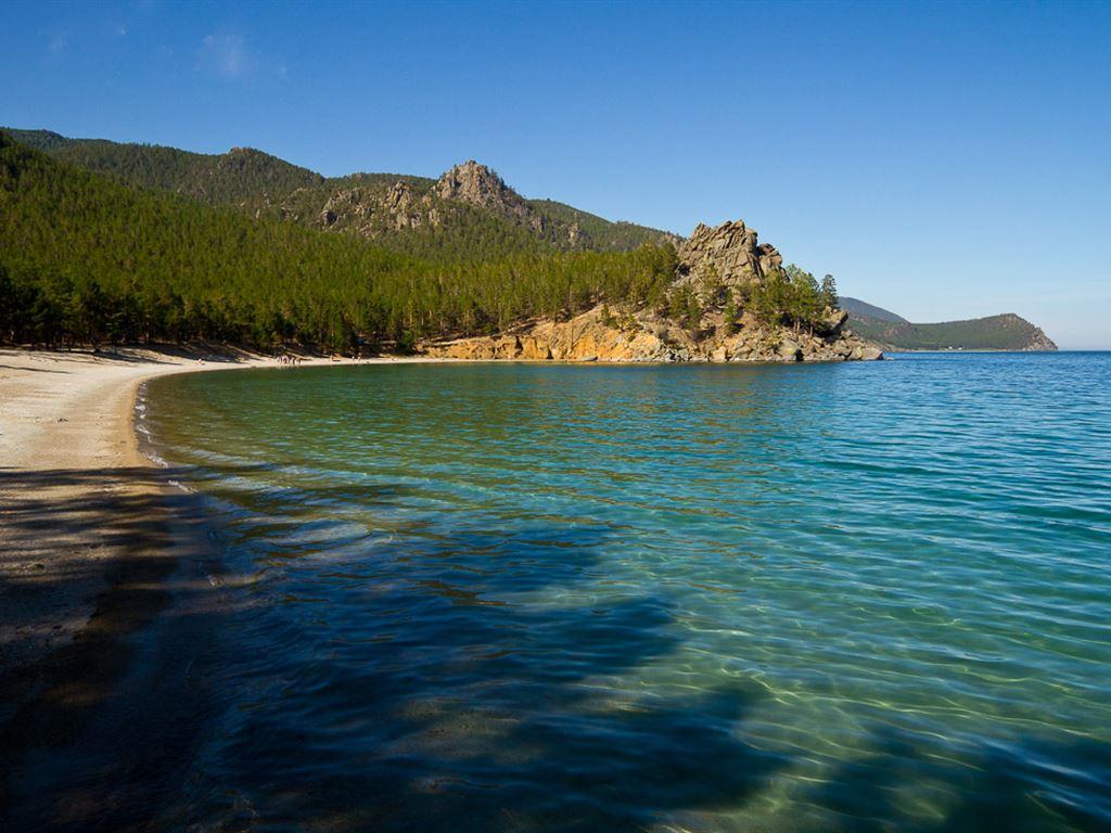 Peschanaya Bay and Babushka (Baikal)