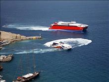 Santorini  by plane