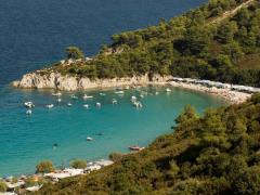 Armenistis camping and beach, Sithonia, Halkidiki, Greece (2)