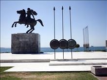 Памятник Александра Македонского, Салоники